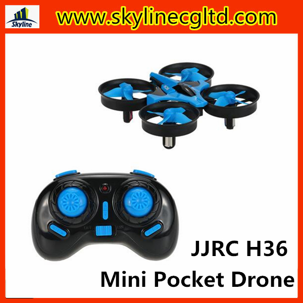 JJRC H36 2.4G 4CH 6-Axis Gyro 3D-Flip Headless Mode One-Key Return Anti-Crush UFO RC Quadcopter RTF Mini pocket Drone
