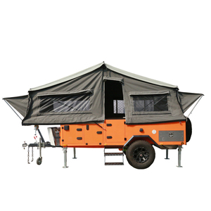 ECOCAMPOR Australian Standards Off Road Front Fold Camping Tent Trailer for Sale