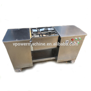 Guangzhou Factory Stainless Steel CH Series Sigma Paddle Horizontal Trough Typed Ribbon Mixer For Soap Dry Powder
