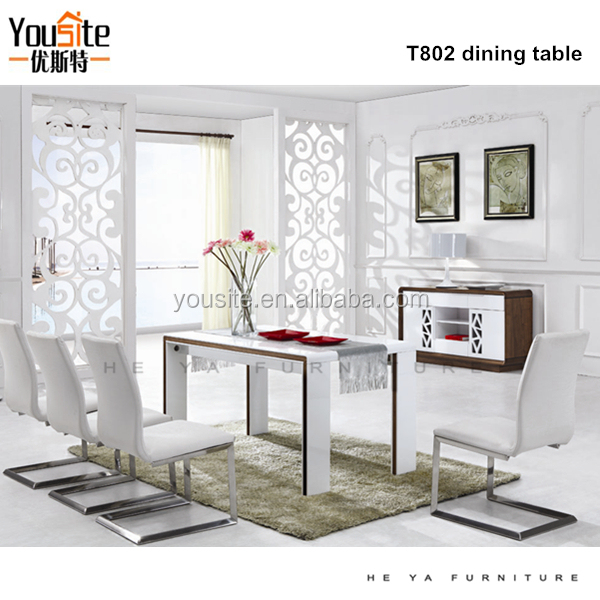 white modern dining room. High Gloss White Modern Dining Table  Suppliers and Manufacturers at Alibaba com