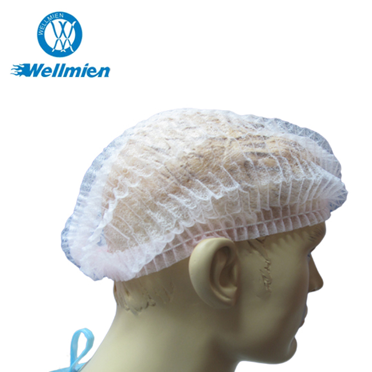 Disposable Nonwoven Bouffant Cap Surgical PP Head Cover