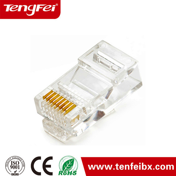 Conector RJ45 para RJ45 utp cat5e & display led Conector Do Soquete
