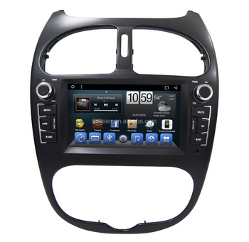 touch screen auto radio car dvd for peugeot 206 gps navigation system android 7 1 with radio. Black Bedroom Furniture Sets. Home Design Ideas