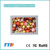 Super thin ABS plastic MP3 MP4 player 1024*768 12 inch digital photo viewer