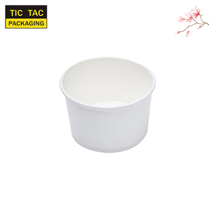 disposable salad paper bowls hot soup takeaway bowl with lid
