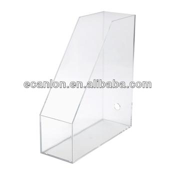 Acrylic A4 Desktop File Box