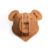 wholesale wall mounted wooden teddy bear animal trophy head