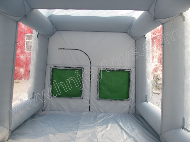Popular best price mobile portable car paint inflatable paint booth for sale