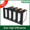 compressed V Cell Secondary hvac activated carbon air filters