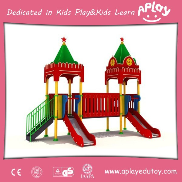 Russian Kremlin Theme Luxury Kindergarten Kids Outdoor Playground Items AP OP 8001