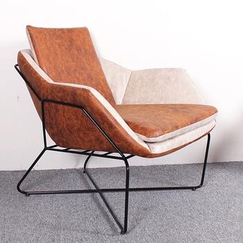 Charmant Elegant Design Metal Frame Luxury Leisure Armchair Living Room Furniture  NO.AF2