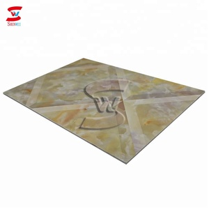 plastic profile pvc board marble sheet with stone look on promotion