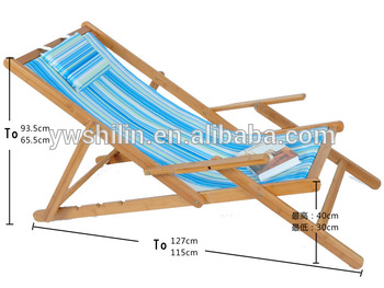 Newest Hot Sales Bamboo Folding Reclining Chair