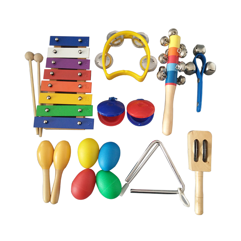 Hot Sale Xylophone Orff Percussion Instrument Set Kids Educational Toys