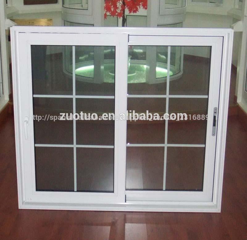 Ventana corredera de aluminio doble vidrio de ventana for Ventanas doble vidrio