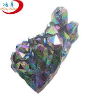 Wholesale natural angel aqua aura quartz crystals gemstone
