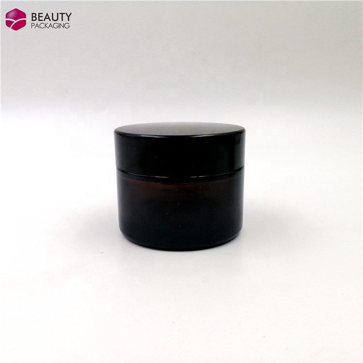 jars glass 50 g glass luxury cream jars container for cosmetic