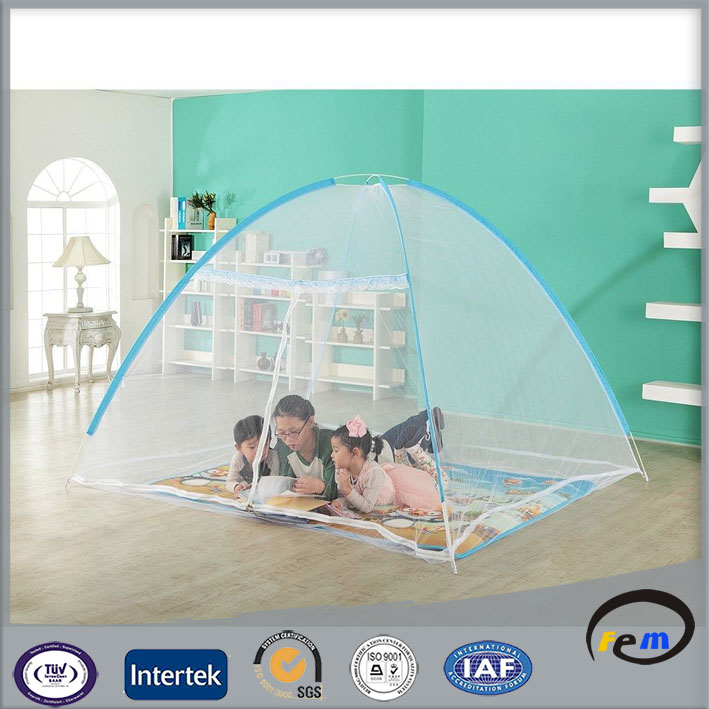 children jacquard zipper mosquito net