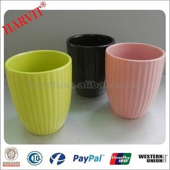 Color Glaze Cheap Flower Pots/Different Types Flower Pots/Planter Supplier  Terracotta Flower Pots