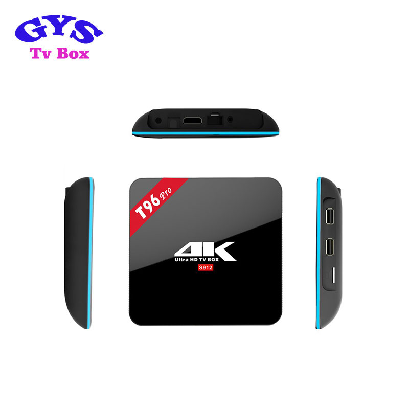 Factory Price T96 Pro 2gb+16gb h96 pro plus 3g 32g Android 6.0 TV Box