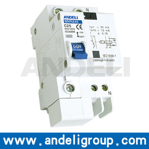 electron rcbo residual current operated electrical rcbo circuit breaker
