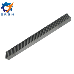 Manufactures precision M3 pinion gear and rack with helical teeth