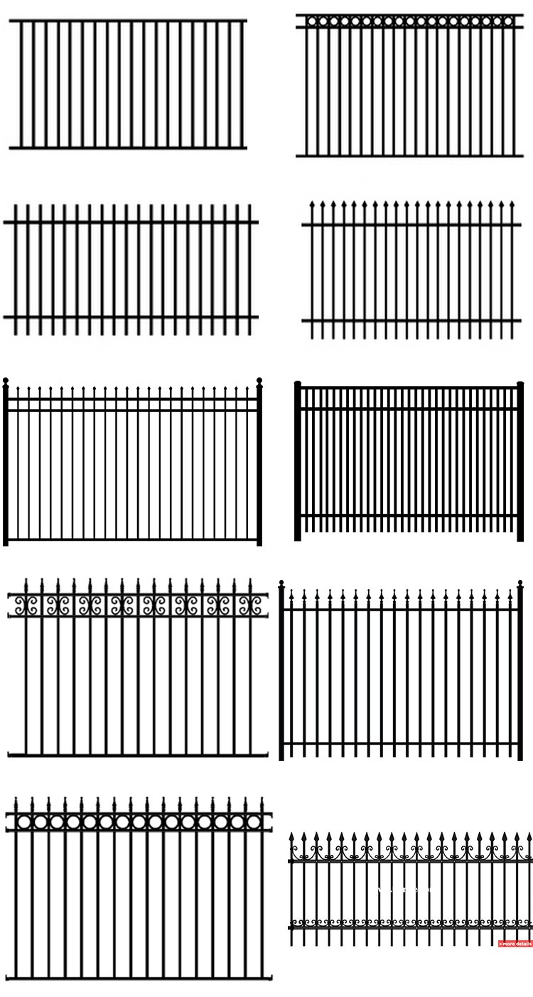 Hot Sale Top Quality Best Price Main Gate And Fence Design - Garden gate for sale