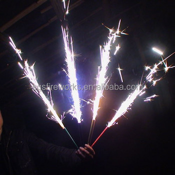 Wholesale 15cm45s Indoor Magic Cold Flame Happy Birthday Cake Sparkler Candle Fireworks