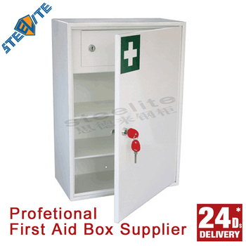 Office Emergency First Aid Kit Box Wall Mounted Hanging First Aid ...