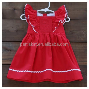 valentines day girls ruffle plain frocks children well wolf boutique dresses - Valentine Dresses For Girls