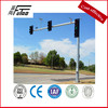 LED traffic sign pole octagonal steel pole arm length 6.3m