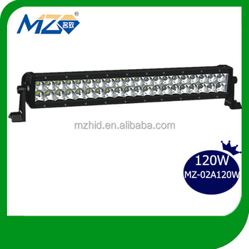 "20"" led light offroad bar 120W light bar for off road waterproof IP67 2017 hot sale China supplier high quality waterproof"