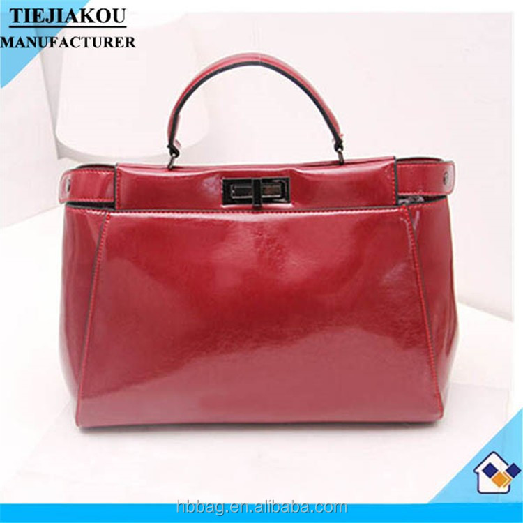 China leather bags all name brand handbags ladies bags wholesale