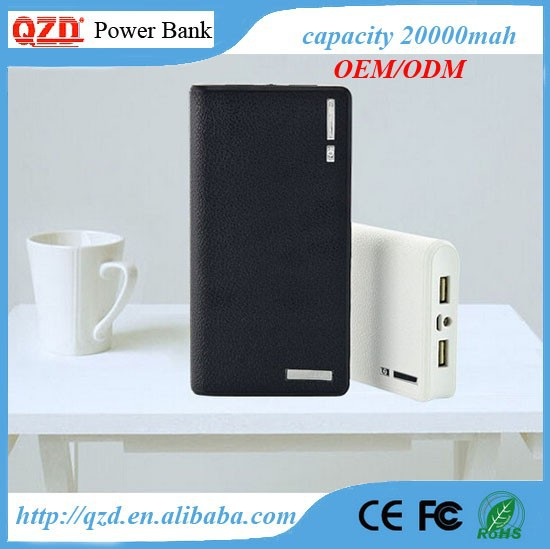 Large capacity good quality power bank for porsche
