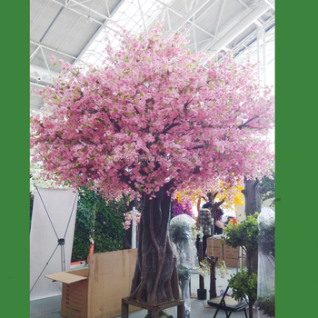 China Factory Silk Cherry Tree Large Indoor Artificial Cherry ...