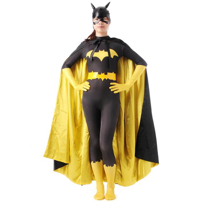 Buy black batman costume women adult batgirl cosplay halloween costumes for women sexy superhero bodysuit zentai mask cape custom in Cheap Price on ...  sc 1 st  Alibaba & Buy black batman costume women adult batgirl cosplay halloween ...