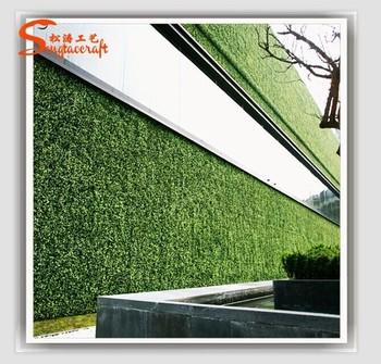 Naturel Artificielle Vert Clôture Vertical Mur Vert Pour La ...
