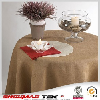 Rectangular Natural Burlap Round Tablecloth,square Jute Tablecloths