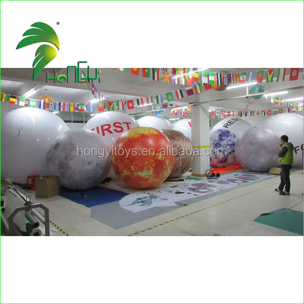 inflatable led lighting planet balloon (7)