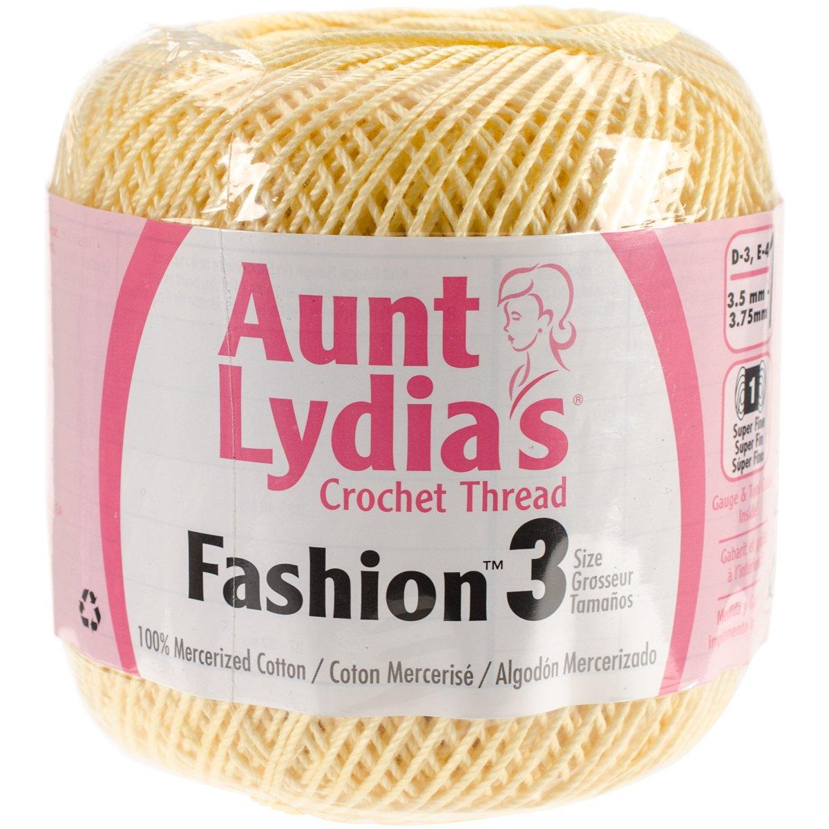 3Pk Coats Crochet Aunt Lydia/'s Fashion Crochet Thread Size 3-Purple