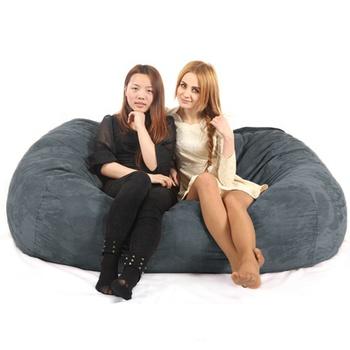 Giant Soft Memory Foam Bean Bag Comfy Sac Beanbag Chair Bed Clic