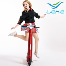 LEHE L1 Portable bajaj max load 150kg scooter electric with pedals