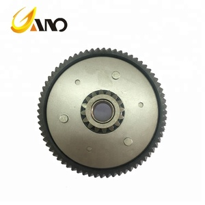 motorcycle engine parts YBR125 clutch assembly