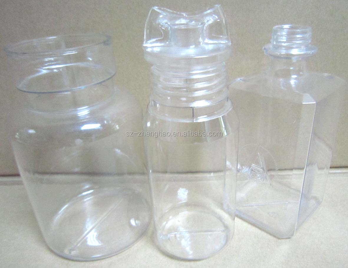 Unique Empty PET Clear Decorative Plastic Sweet Candy Bottle