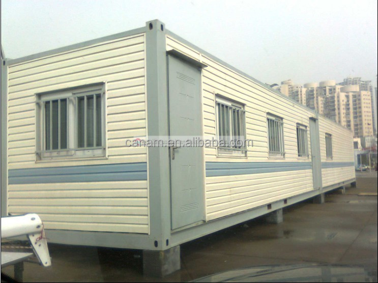 CANAM- ready made living modified container house of designs in india