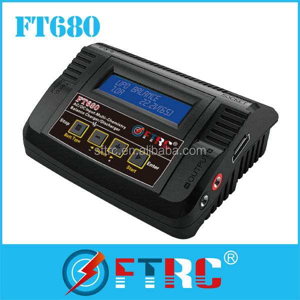 2s-6s lipo balance charger FT680 with the high cost-effective ,OEM accept