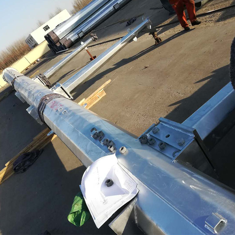 China 35KV Double Circuit Angle Steel Pole Suppliers