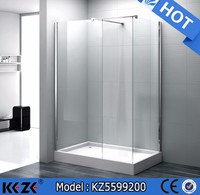 900*1200*2000mm cost of shower room frameless shower and bath accessories(KZ5599200)