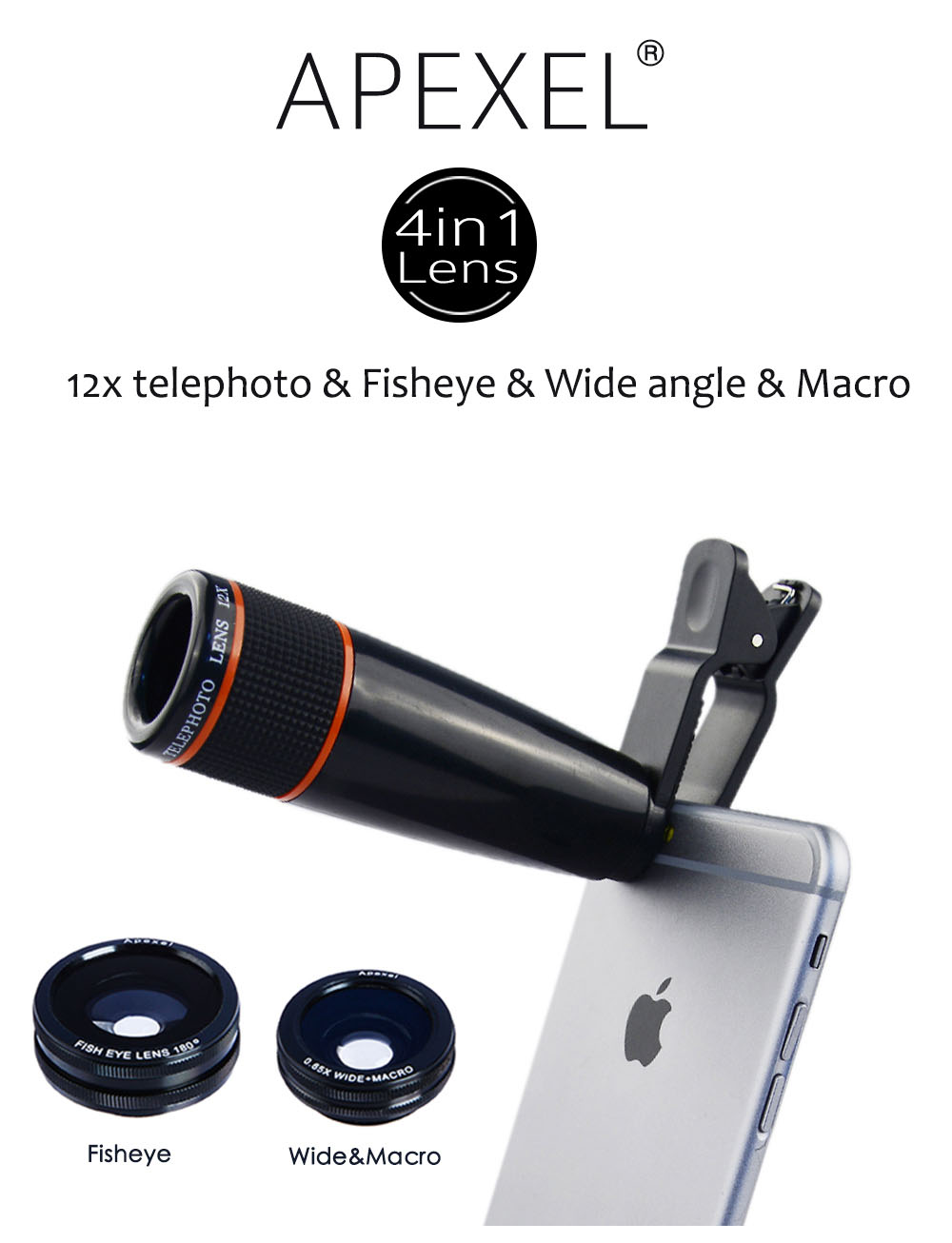 Factory Rent In China,4 In 1 Lens Kit Mobile Camera Lens,Camera ...