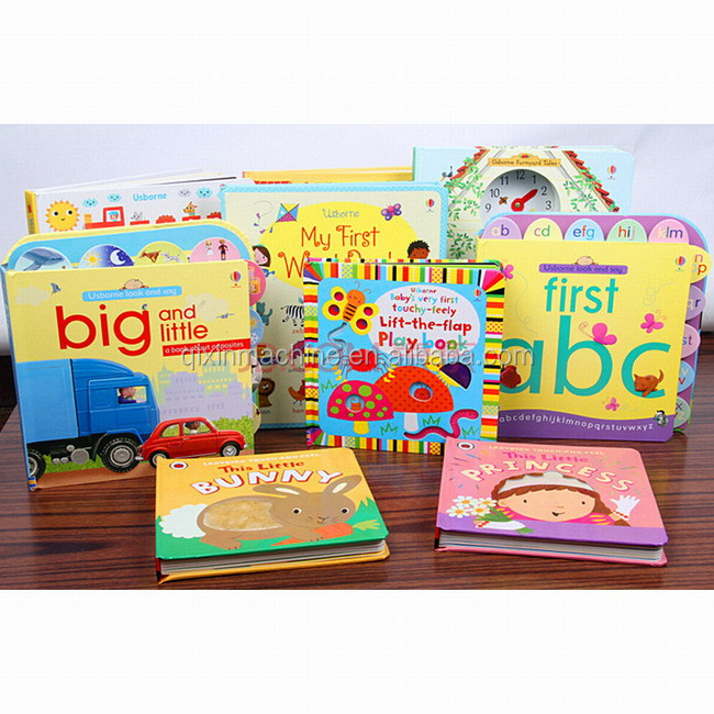 High Quality Customized Children Playing Book/Story Book/Pop Up Book Pringting